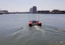 Echodrone, Antwerpen, Autonom, Peilboot
