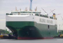 Titus, Car Carrier, Wallenius Wilhelmsen, Bremerhaven, BLG