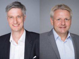 Heiko Felderhoff, Holger Hinrichs, Geschäftsführer bei CombiLift (Foto: CombiLift)