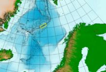 Karte Tiefseemineralien Norwegian Petroleum Directorate