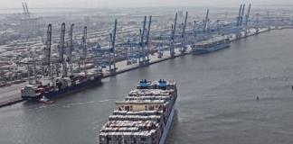 Maersk, Rotterdam, Maasvlakte