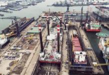 Damen Verolme Rotterdam ship recycling yard - DAMEN / Offshore Ship Recycling Rotterdam - OSRR