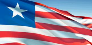 Liberia, Flagge