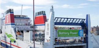 Stena, Jutlandica, Batterie, Battery, Hybrid
