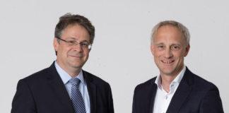Jan Bovermann (rechts), Leiter digitale Unternehmensentwicklung bei der HHLA, wurde neben Felix Kasiske in die Geschäftsführung der HPC Hamburg Port Consulting berufen.