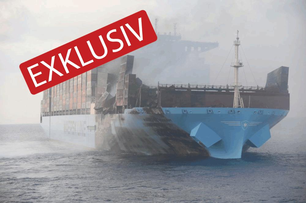 Maersk Honam, IMO, Brandschutz