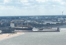 Nordmole, Bremerhaven, Fischereihafen
