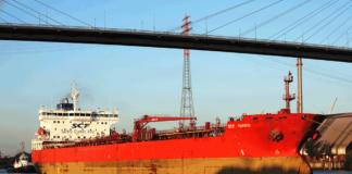 Tanker, Hamburg, Elbe