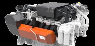 Wärtsilä 14 high speed engine