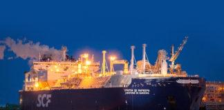 LNG tanker Christophe de Margerie at Sabetta