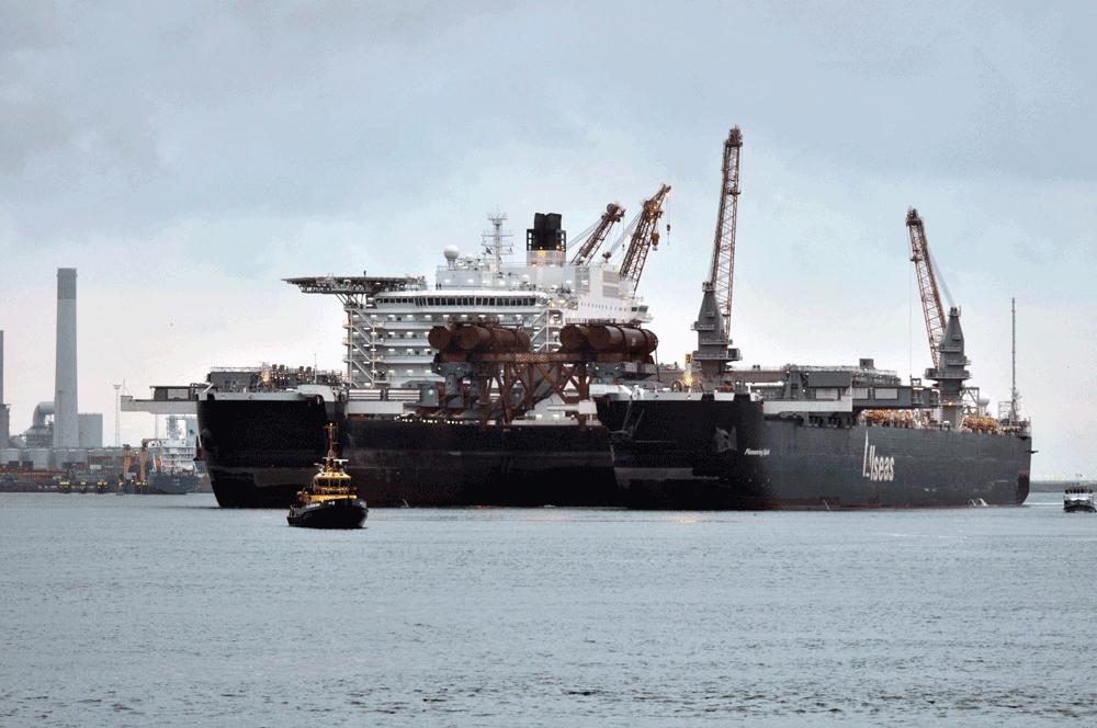 Pioneering Spirit, Nord Stream 2