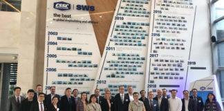 Die VDMA-Delegation »Cruise & Ferry« bei der CSSC (China State Shipbuilding Corporation) (Foto: VDMA)