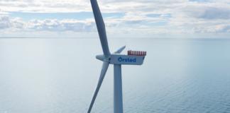 orsted offhore wind turbine