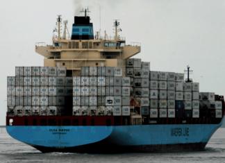 Olga Maersk, Brand