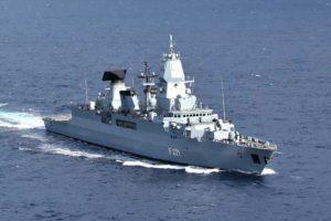 Die Fregatte »Hessen« ist kanpp ein halbes Jahr lang in der Ägäis bei einem NATO-Einsatz beschäftigt