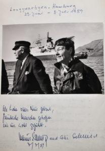 Polarstern, Expedition, Arktis, Gästebuch