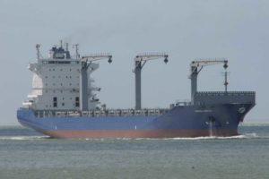 Das Schiff ging unter dem Namen »Hermes Arrow« in Fahrt und war damals ein 2.500 TEU großes Containerschiff