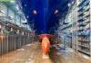 Spirit of Discovery im Dock der Meyer Werft