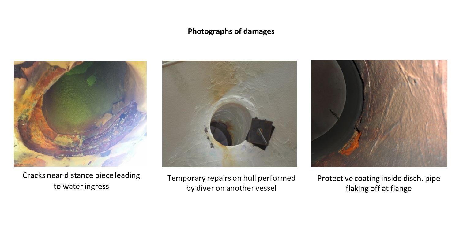 Gard scrubber damage - water ingress