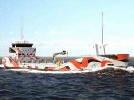 Asahi Tanker e5 Eletro-Bunkerschiff